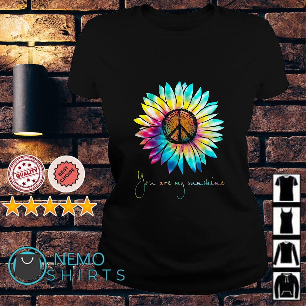Hippie Sunflower you are my sunshine Ladies tee