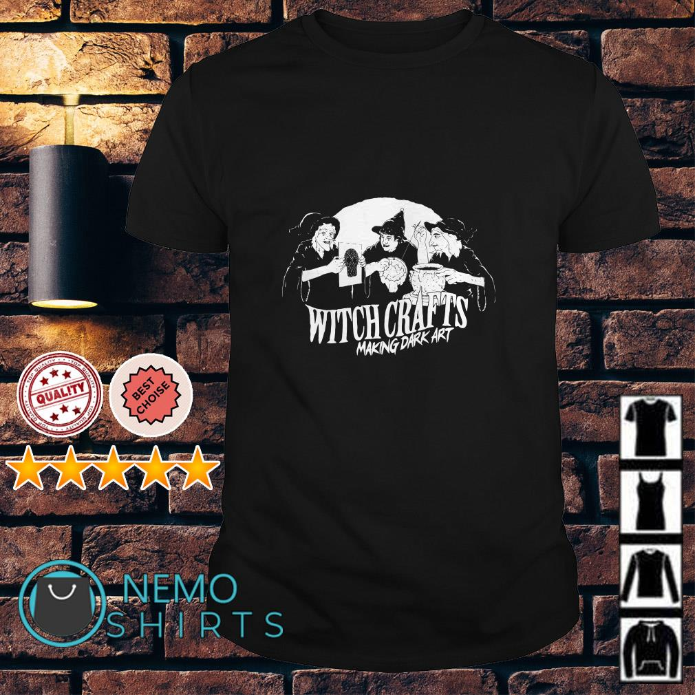 Iheartjlp Witch crafts making dark art shirt
