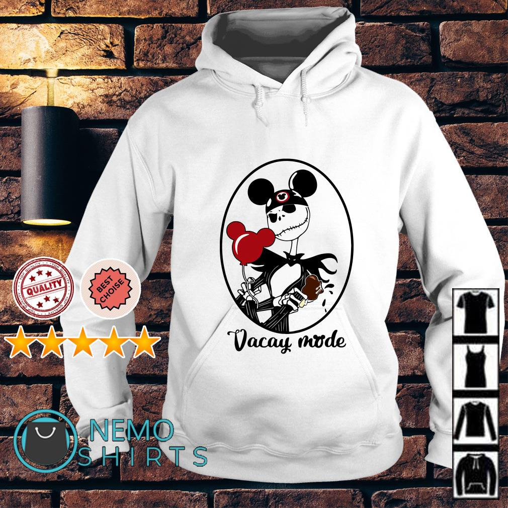 Jack Skellington vacay mode balloon mickey mouse Hoodie