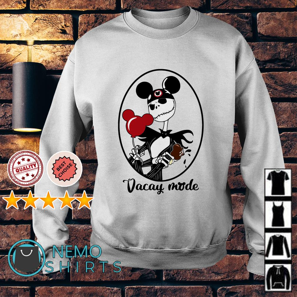 Jack Skellington vacay mode balloon mickey mouse Sweater