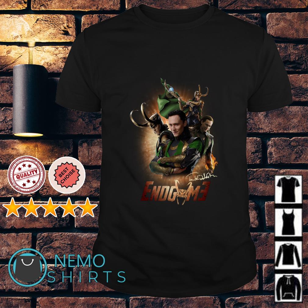 Loki Marvel Avengers Endgame Signature shirt