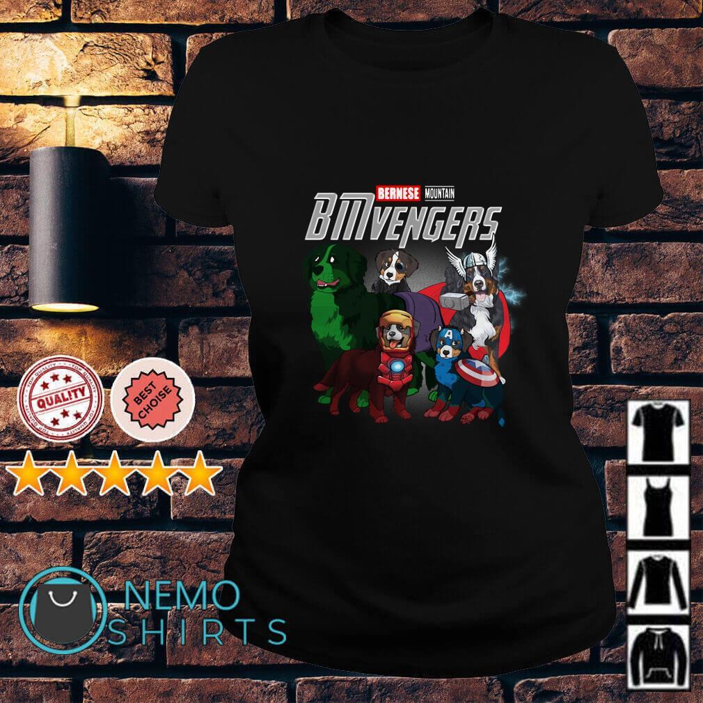 Marvel Avengers Bernese Mountain BMvengers Ladies tee