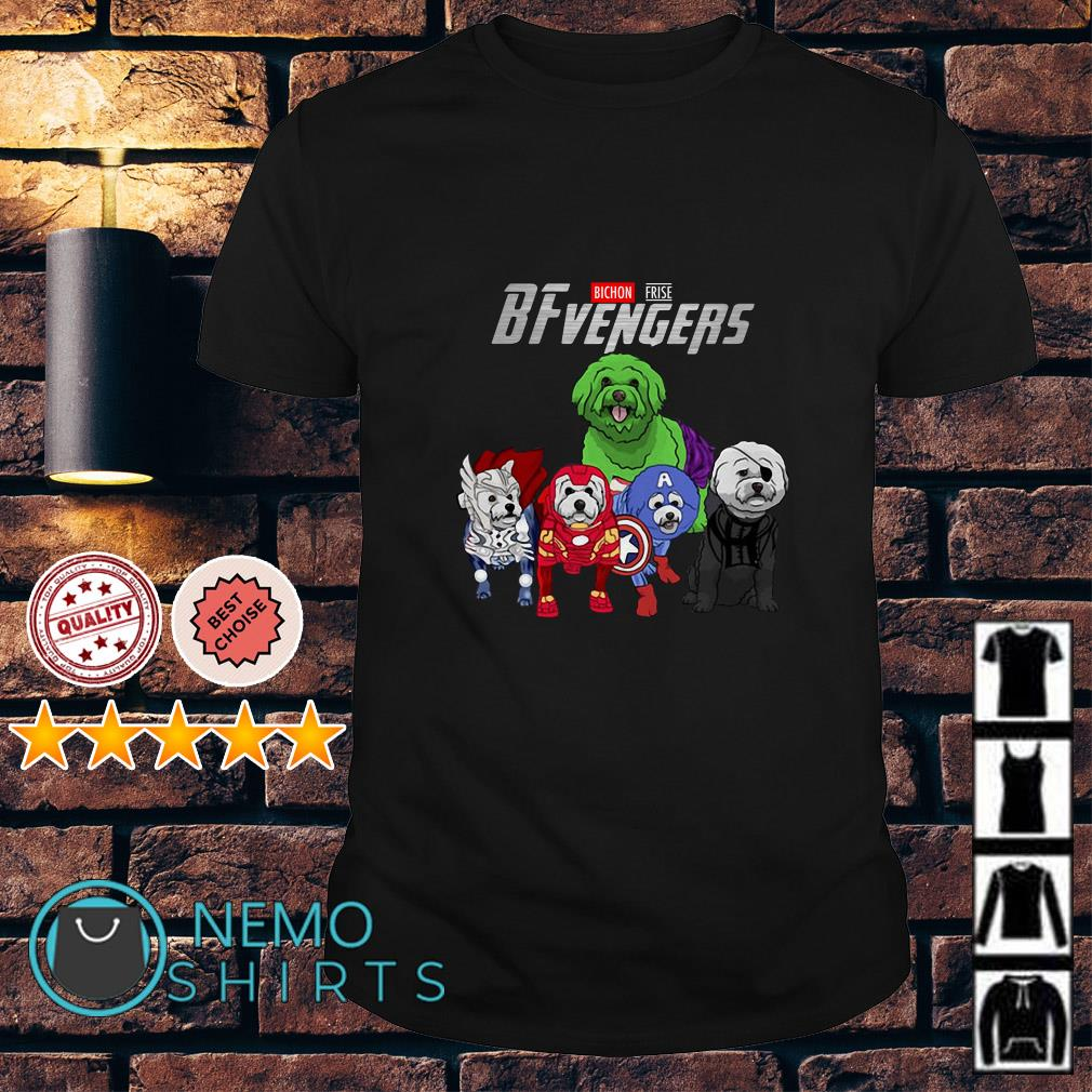 Marvel Avengers Bichon Frise BFvengers shirt