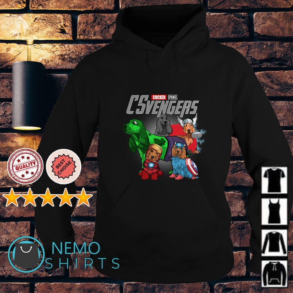 Marvel Avengers Cocker Spaniel CSvengers Hoodie