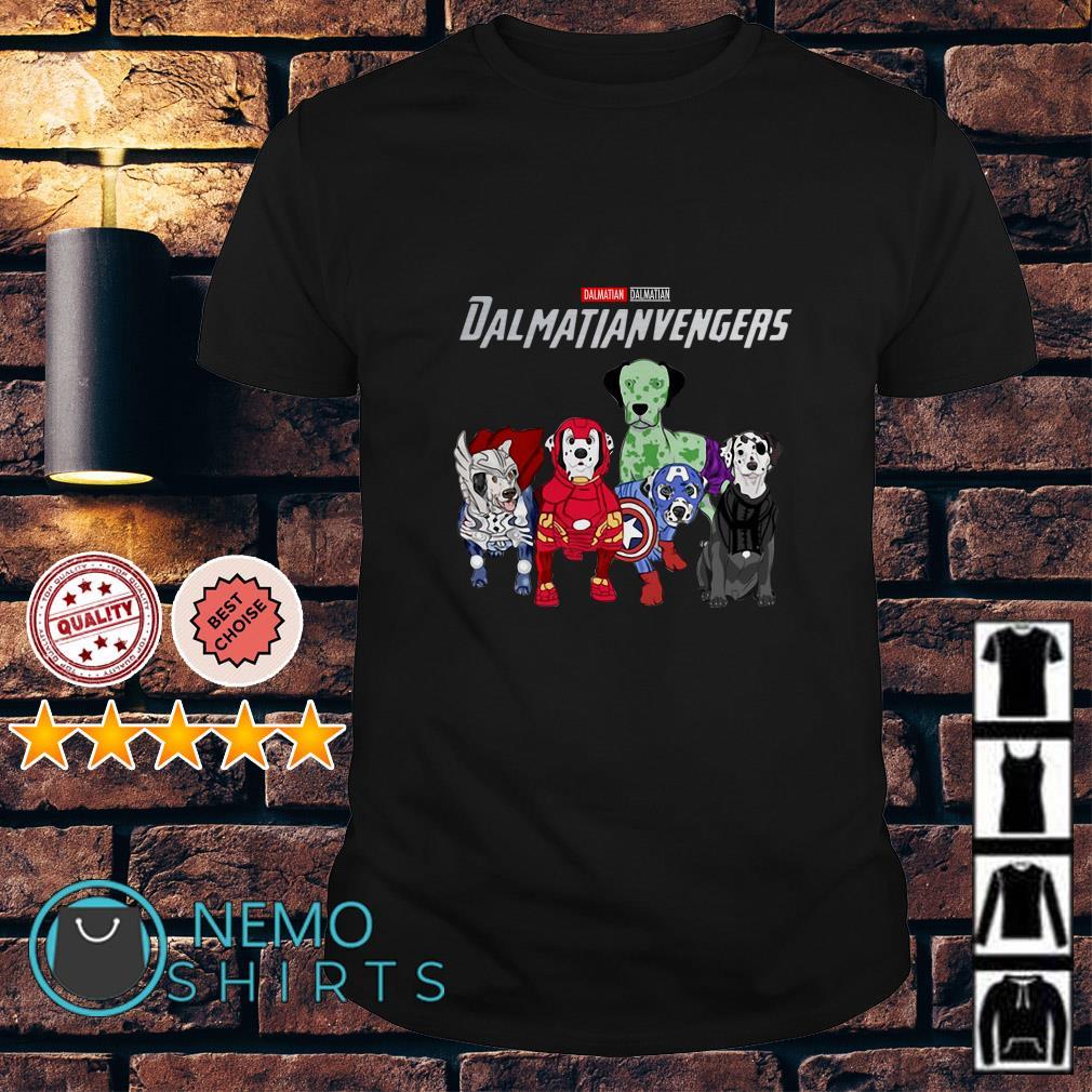 Marvel Avengers Dalmatian Dalmatianvengers shirt