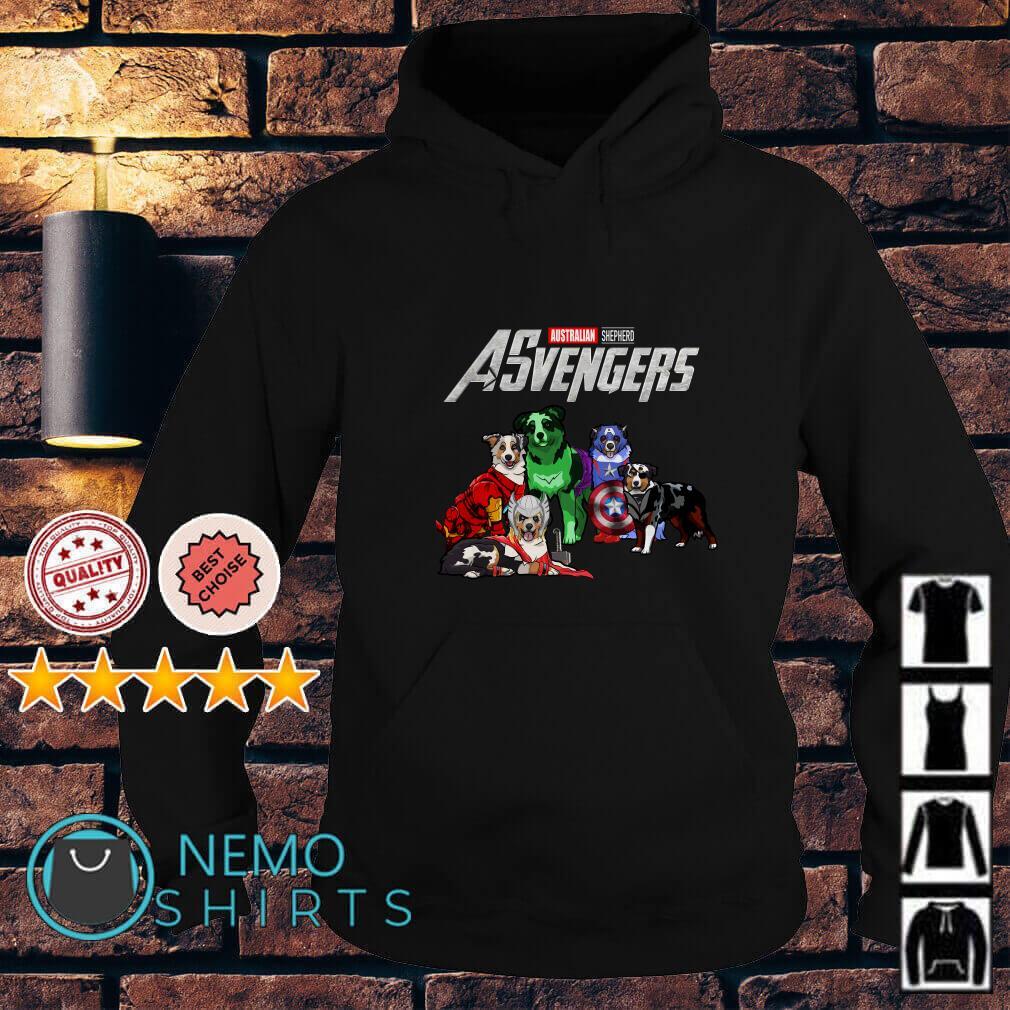 Marvel Avengers Endgame Australian Shepherd ASvengers Hoodie
