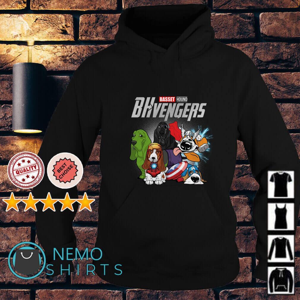 Marvel Avengers Endgame Baset Hound BHvengers Hoodie
