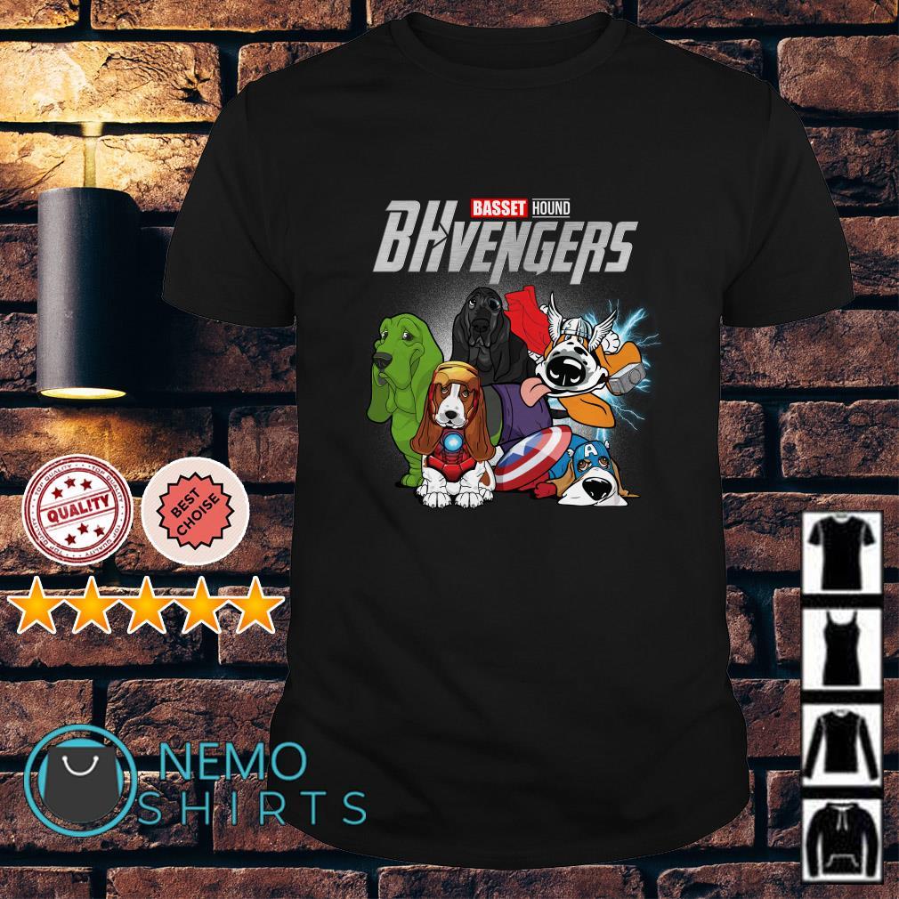 Marvel Avengers Endgame Baset Hound BHvengers shirt