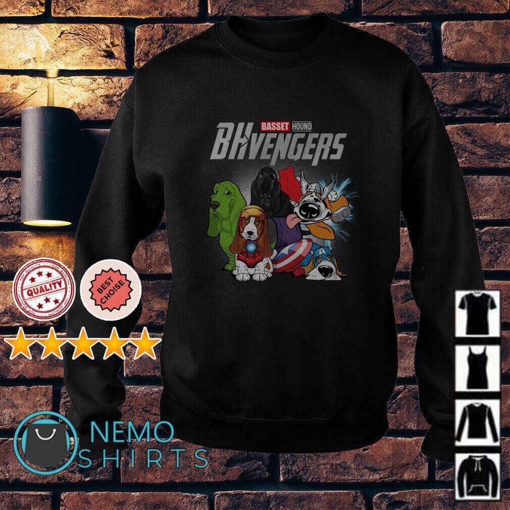 Marvel Avengers Endgame Baset Hound BHvengers Sweater
