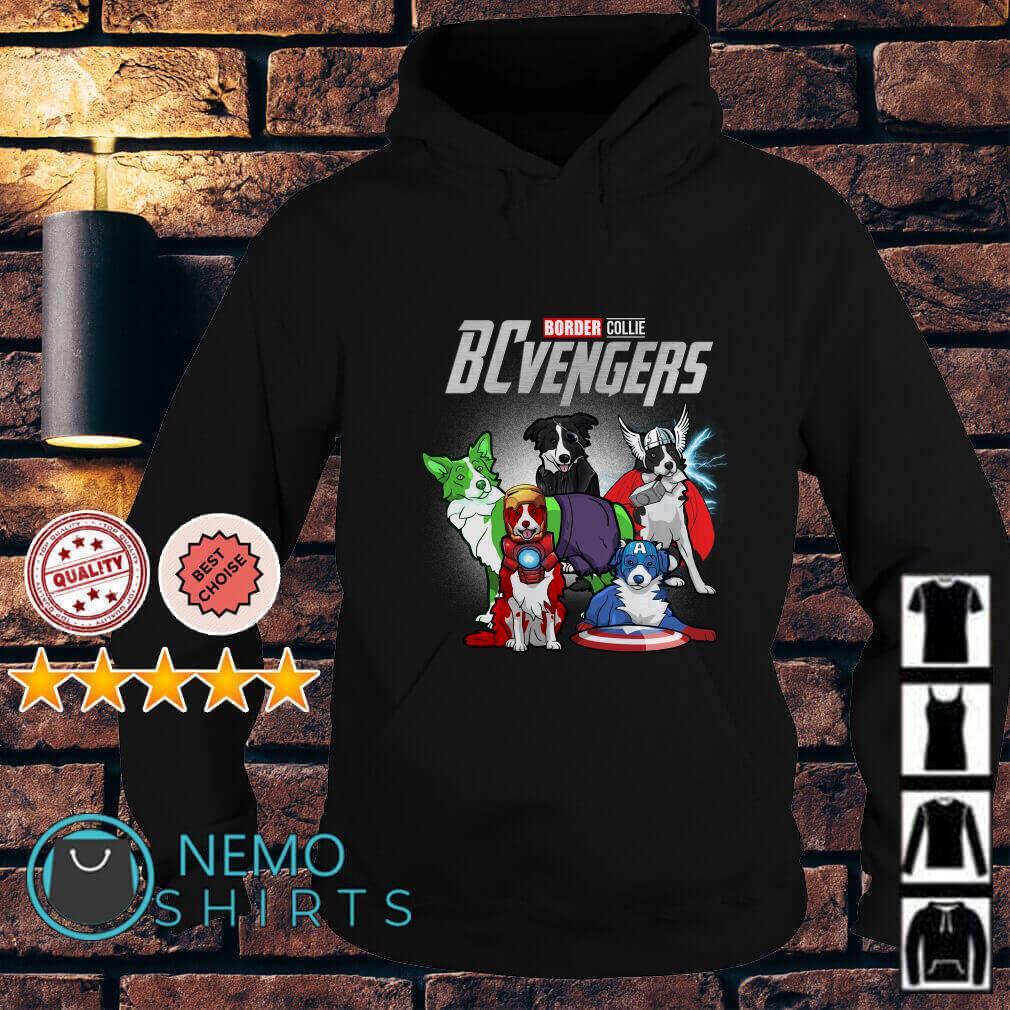 Marvel Avengers Endgame Border Collie BCvengers Hoodie