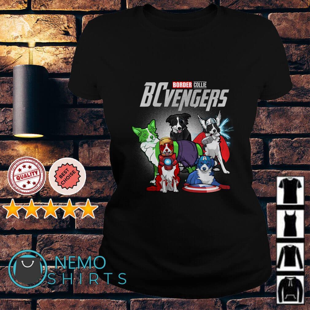 Marvel Avengers Endgame Border Collie BCvengers Ladies tee