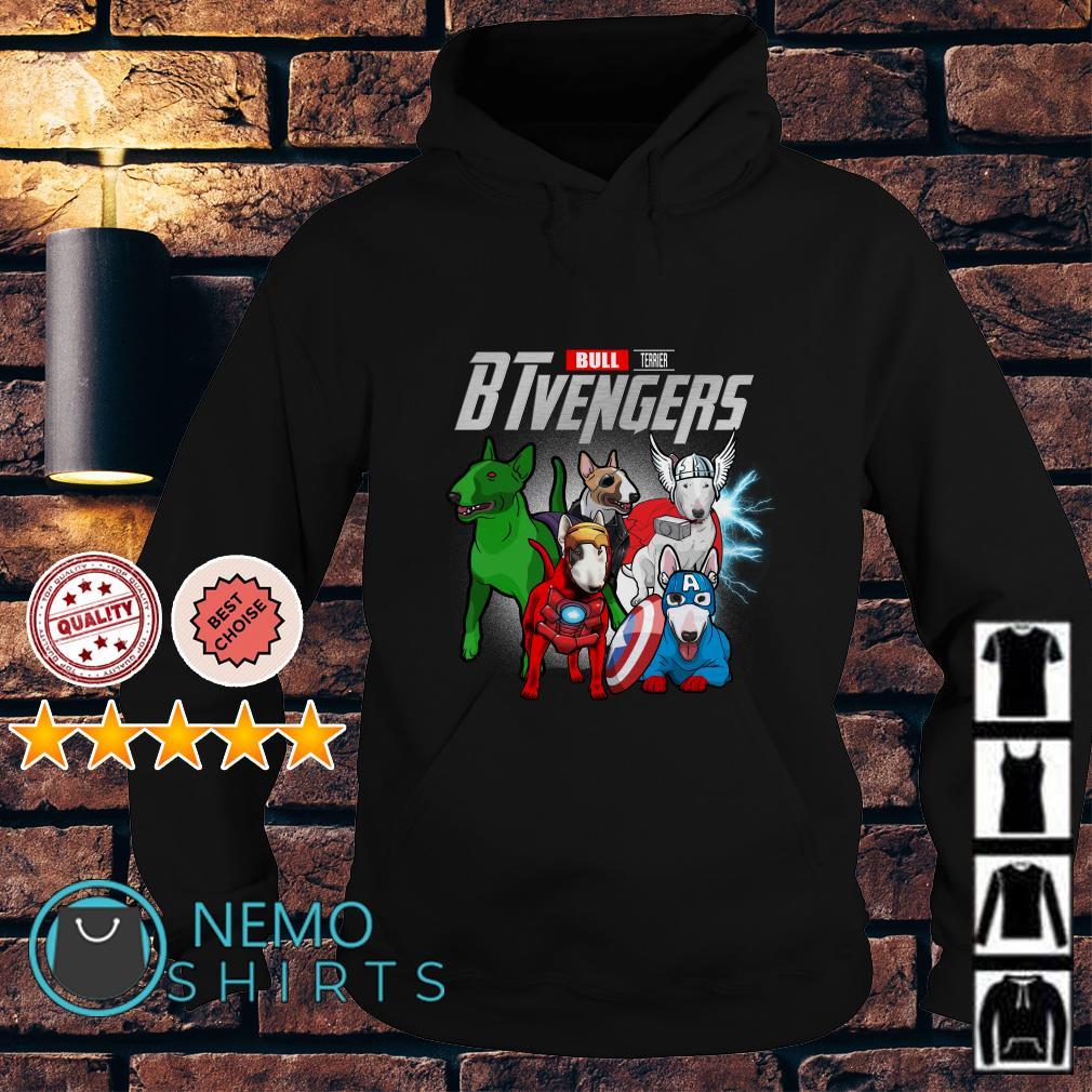 Marvel Avengers Bull Terrier BTvengers Hoodie