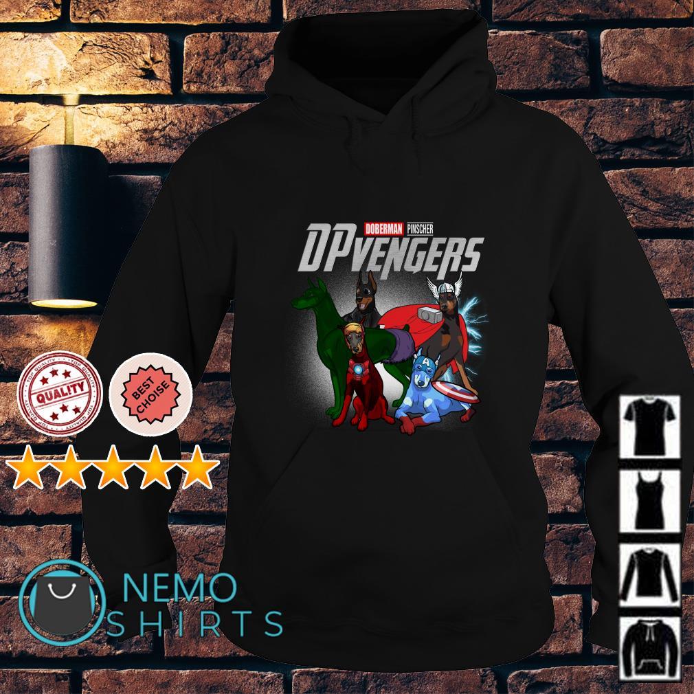 Marvel Avengers Endgame Doberman Pinscher DPvengers Hoodie