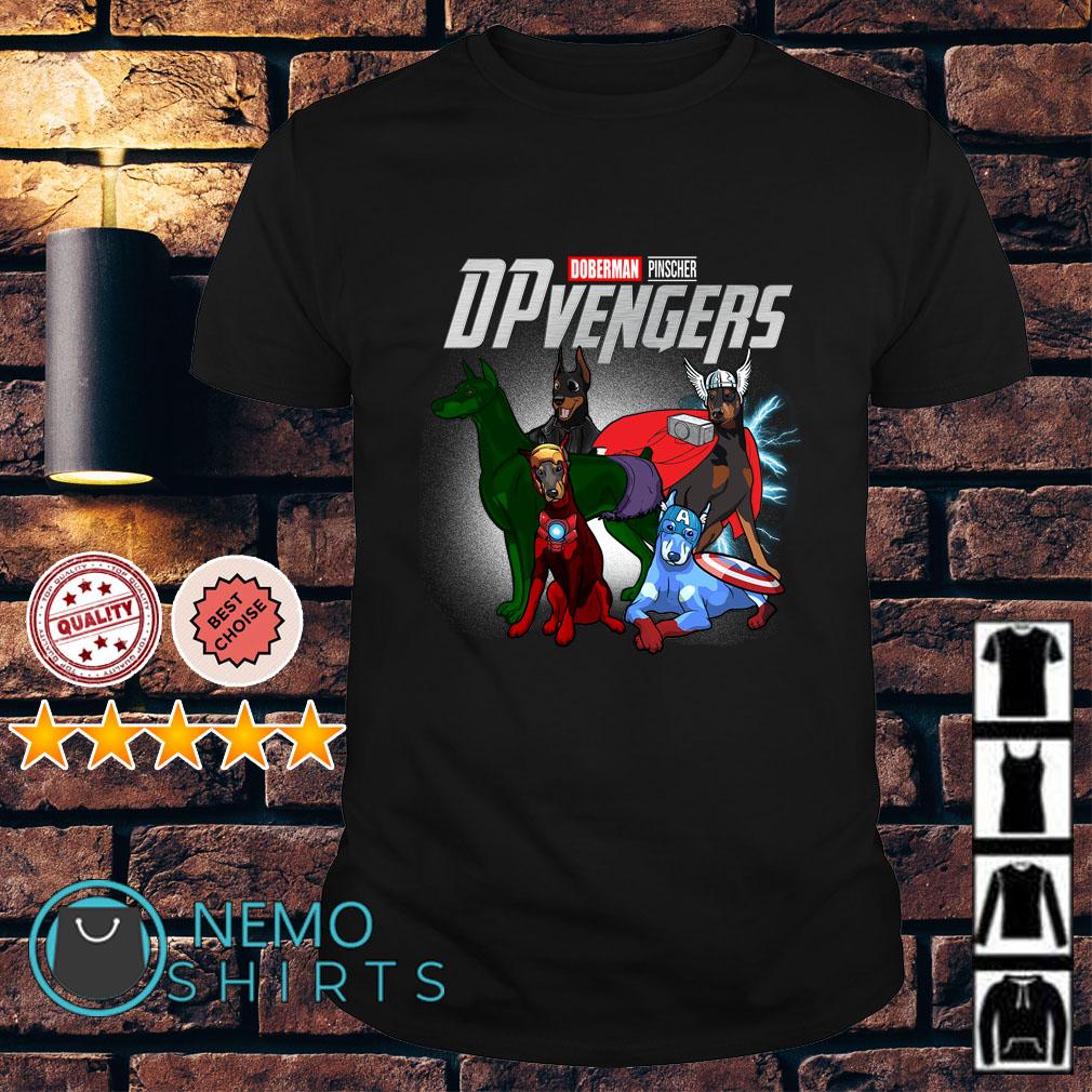 Marvel Avengers Doberman Pinscher DPvengers shirt