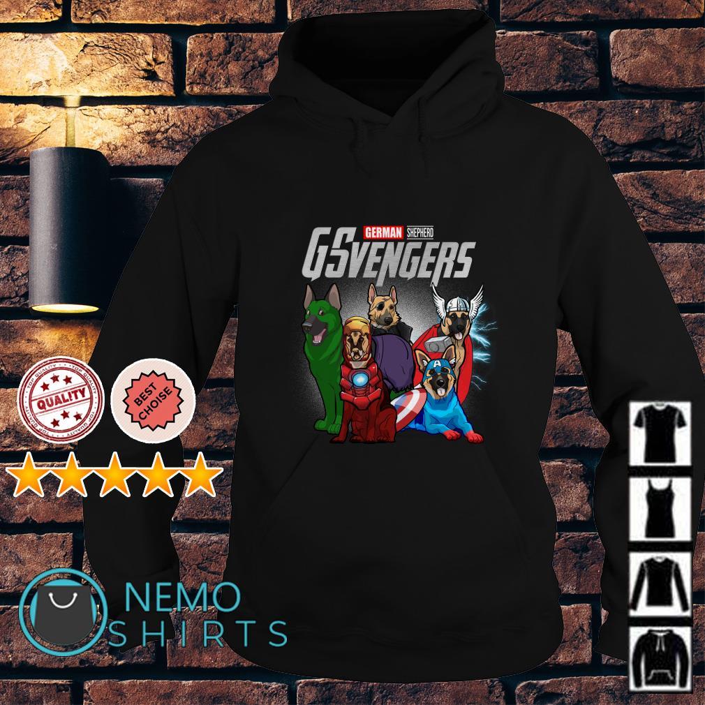Marvel Avengers German Shepherd GSvengers Hoodie