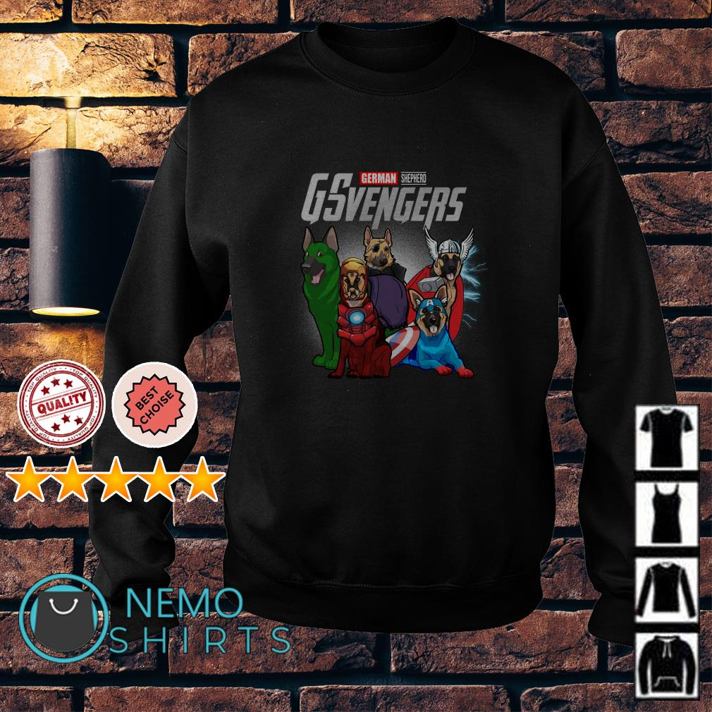 Marvel Avengers German Shepherd GSvengers Sweater