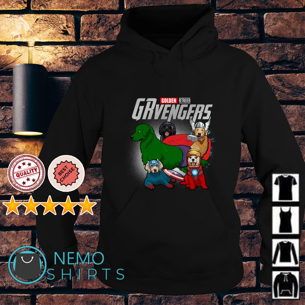 Marvel Avengers Golden Retriever GRvengers Hoodie