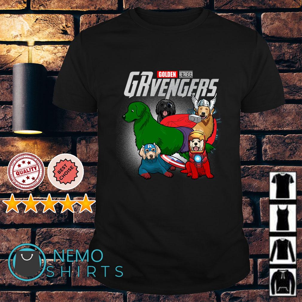 Marvel Avengers Golden Retriever GRvengers shirt