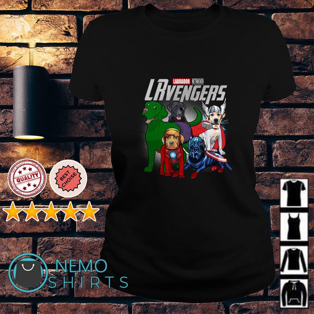 Marvel Avengers Labrador Retriever LRvengers Ladies tee