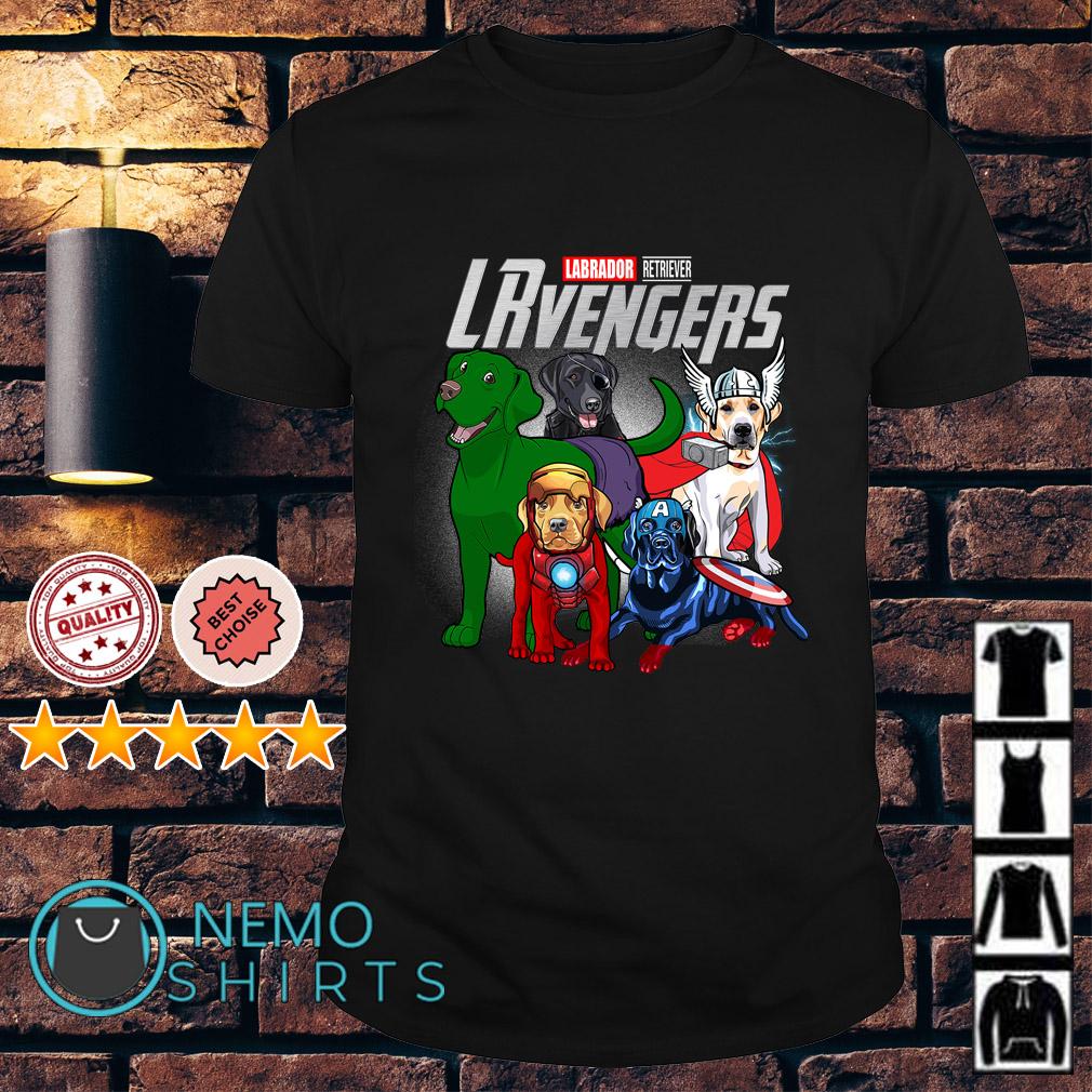 Marvel Avengers Labrador Retriever LRvengers shirt