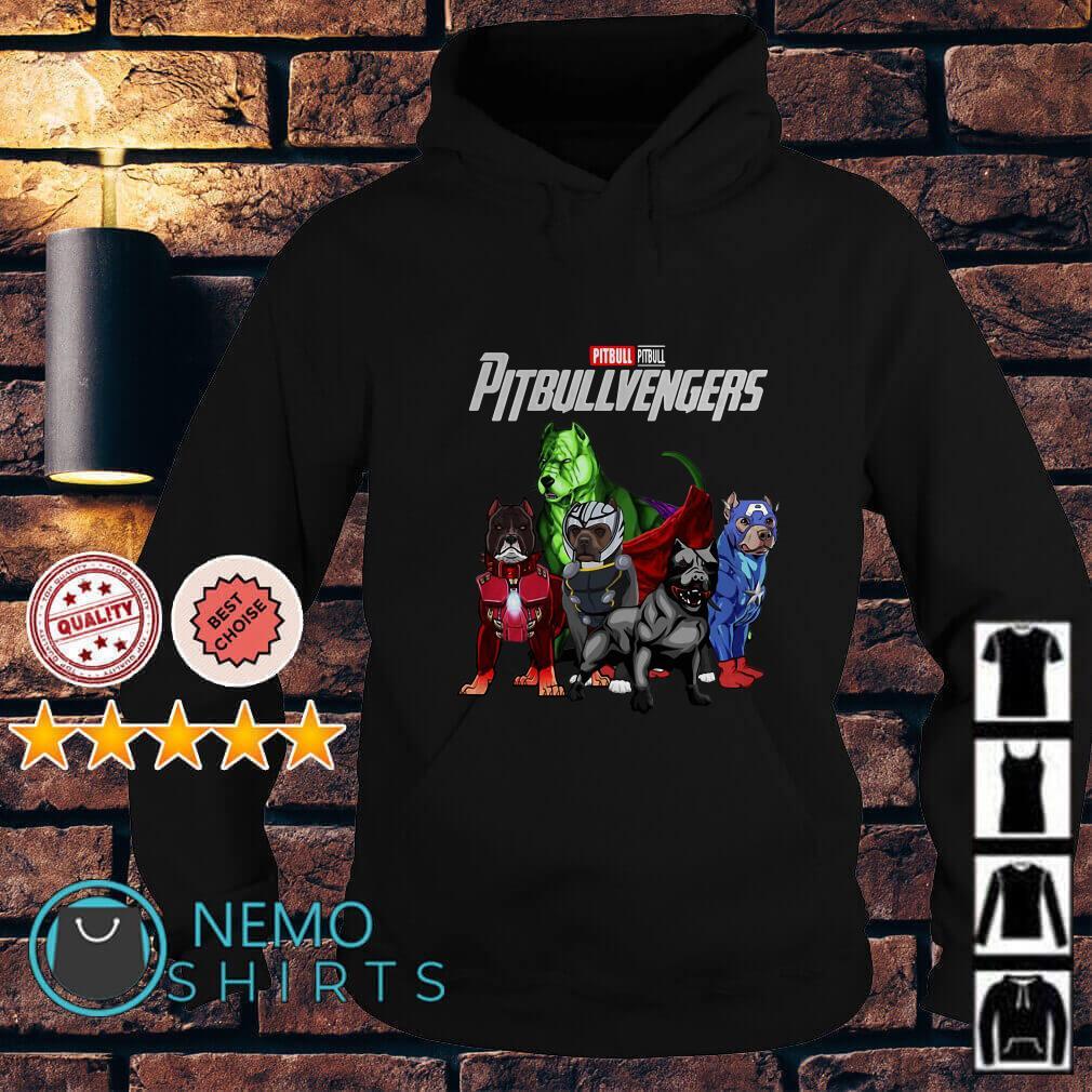Marvel Avengers Endgame Pitbull Pitbullvengers Hoodie