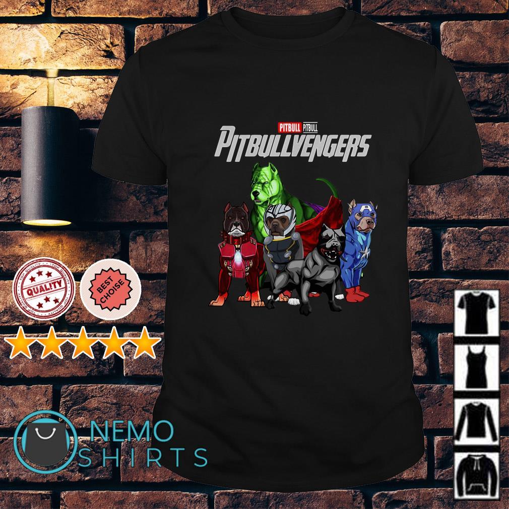 Marvel Avengers Endgame Pitbull Pitbullvengers shirt