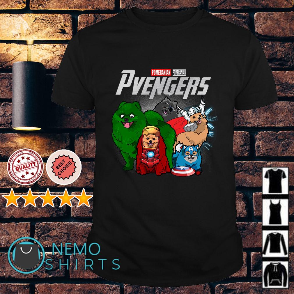 Marvel Avengers Pomeranian Pvengers shirt