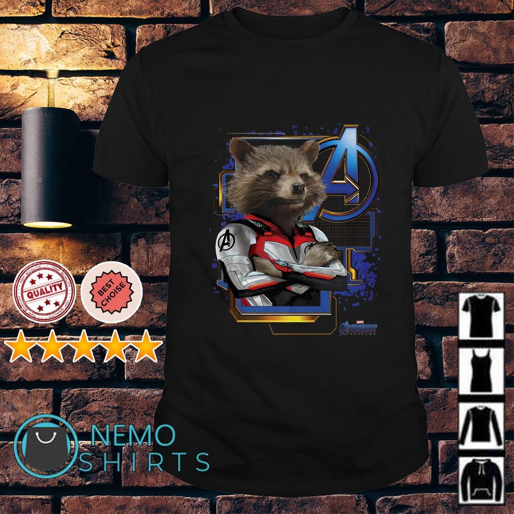 Marvel Avengers Endgame Rocket shirt