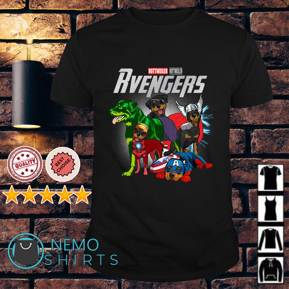 Marvel Avengers Rottweiller Rvengers shirt