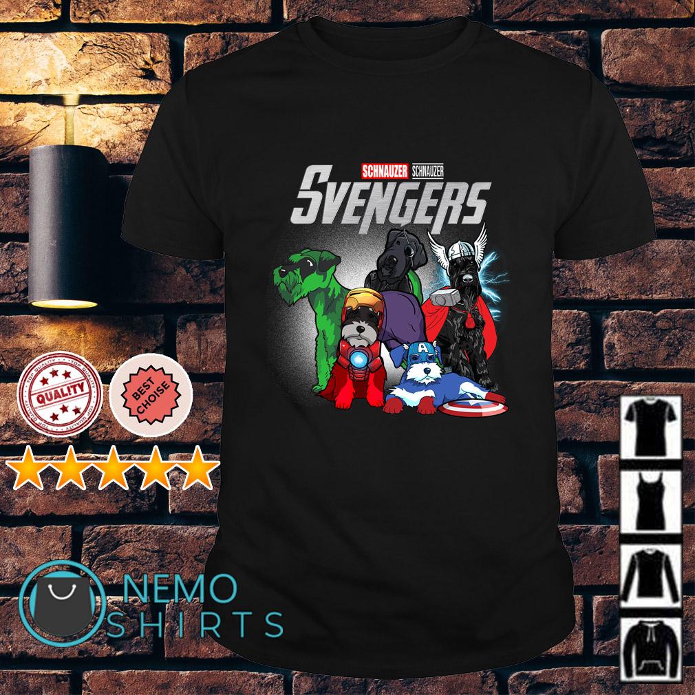 Marvel Avengers Endgame Schnauzer Svengers shirt