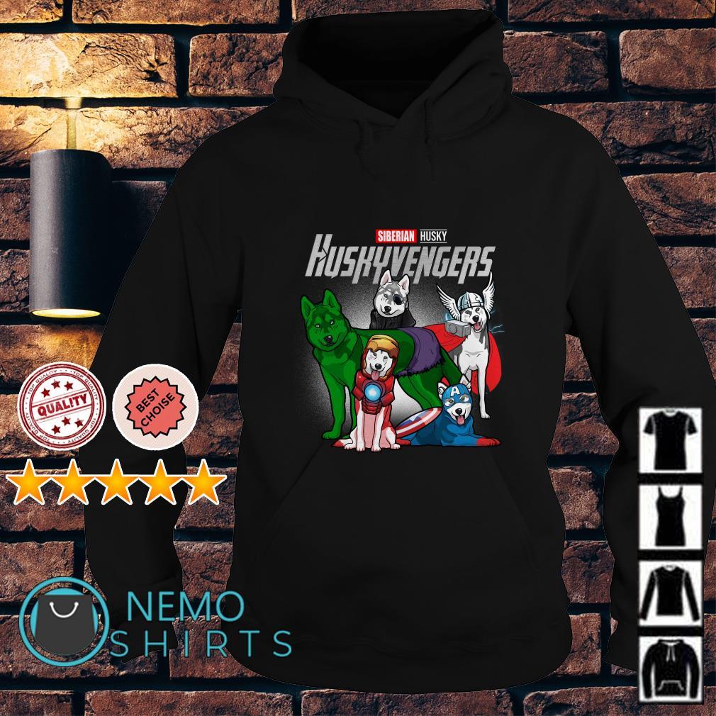 Marvel Avengers Siberian Husky Huskyvengers Hoodie