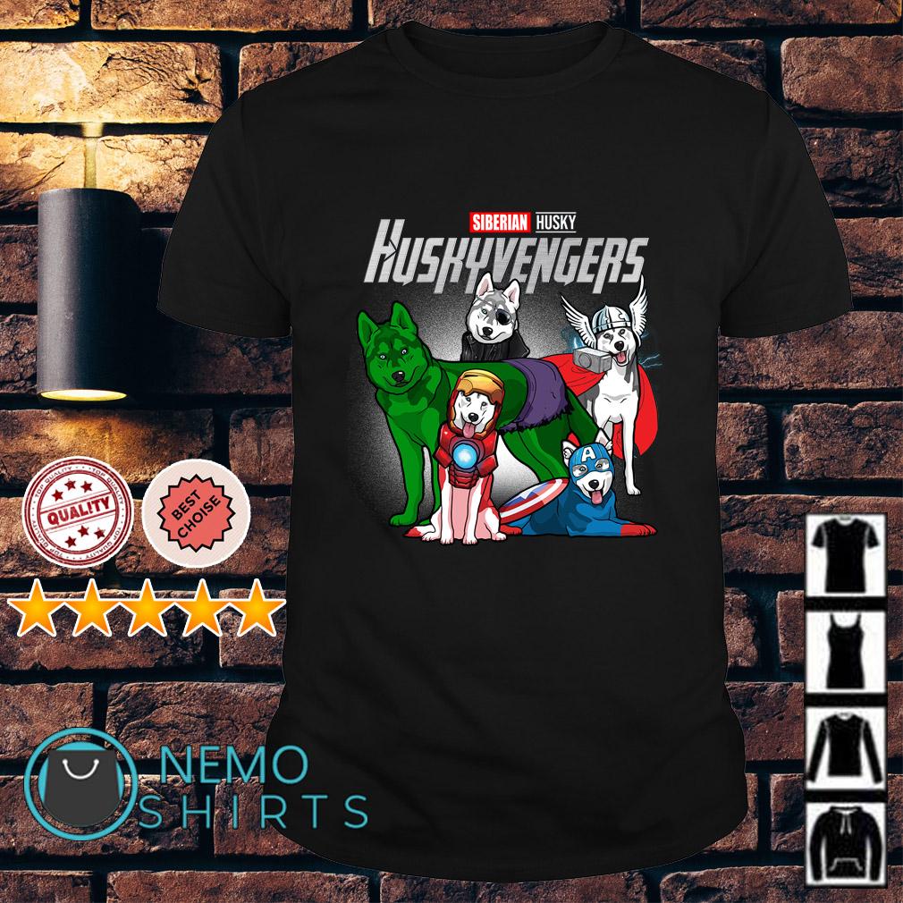 Marvel Avengers Siberian Husky Huskyvengers shirt