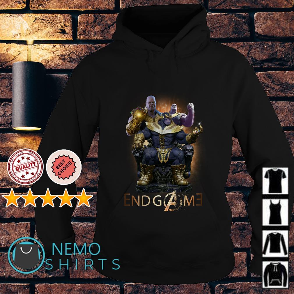 Marvel Avengers Endgame Thanos Hoodie