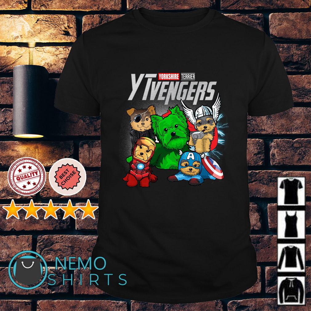 Marvel Avengers Yorkshire Terrier YTvengers shirt