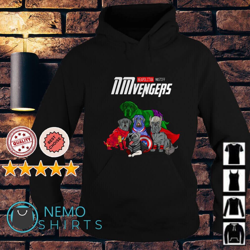 Marvel Avengers Neapolitan Mastiff NMvengers Hoodie