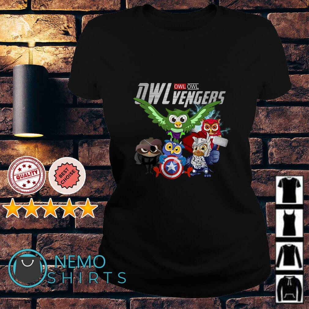 Marvel Avengers Owl Owlvengers Ladies tee