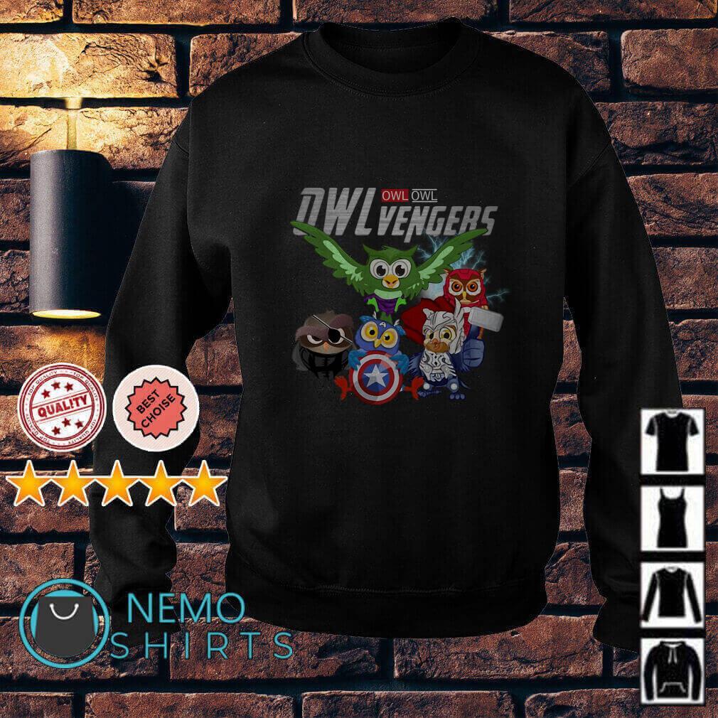 Marvel Avengers Owl Owlvengers Sweater