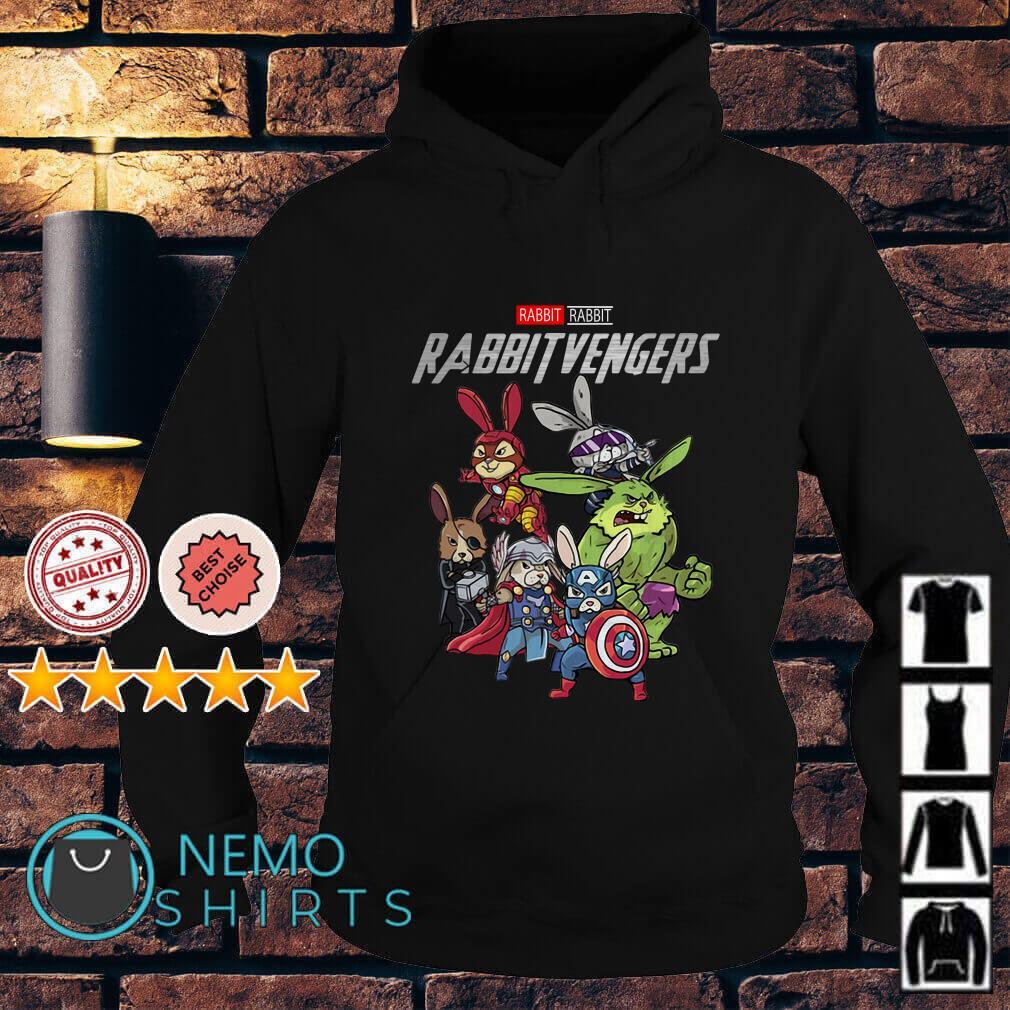 Marvel Avengers Rabbit Rabbitvengers Hoodie