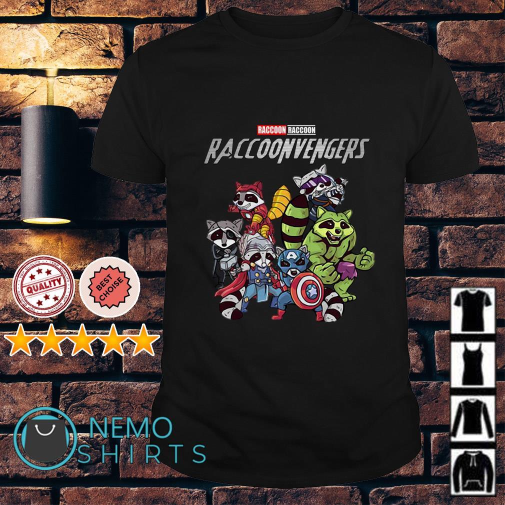 Marvel Avengers Raccoon Raccoonvengers shirt