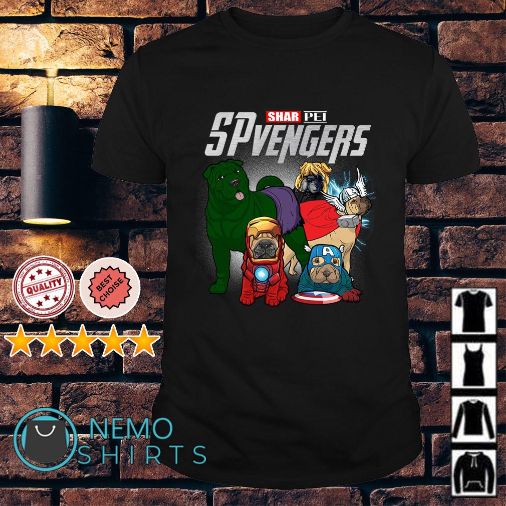 Marvel Avengers Shar Pei SPvengers shirt