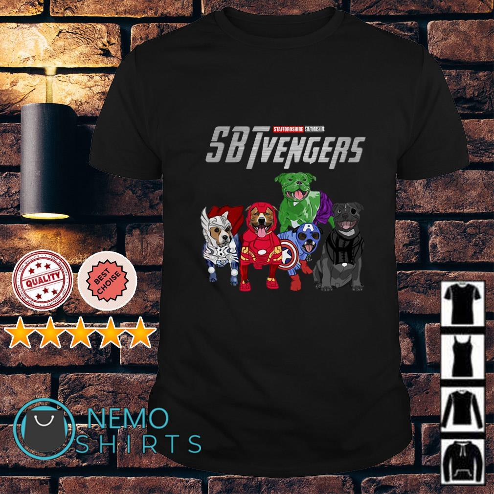 Marvel Avengers Stafforoshire SBTvengers shirt
