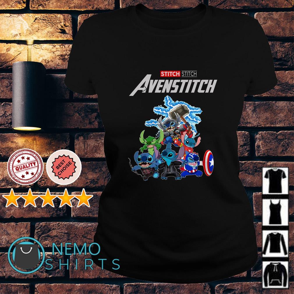 Marvel Avengers Stitch Avenstitch Ladies tee