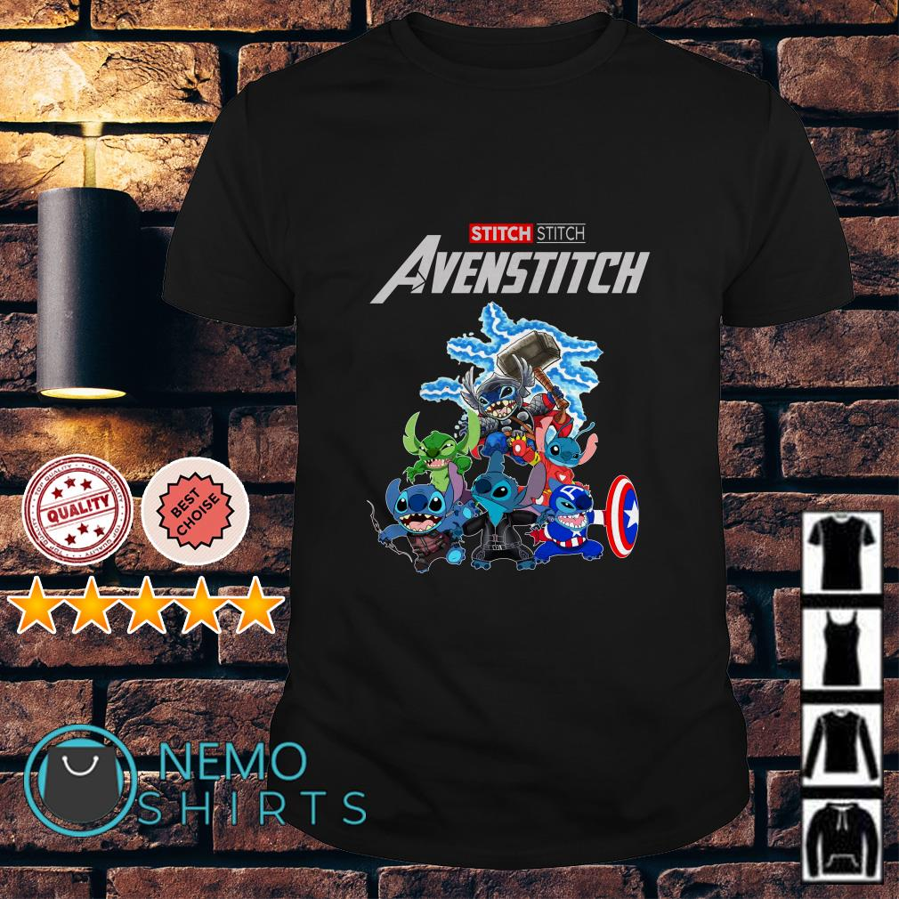 Marvel Avengers Stitch Avenstitch shirt