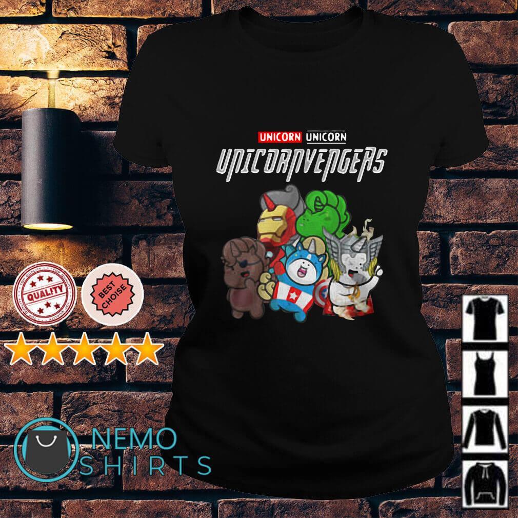 Marvel Avengers Unicorn Unicornvengers Ladies tee
