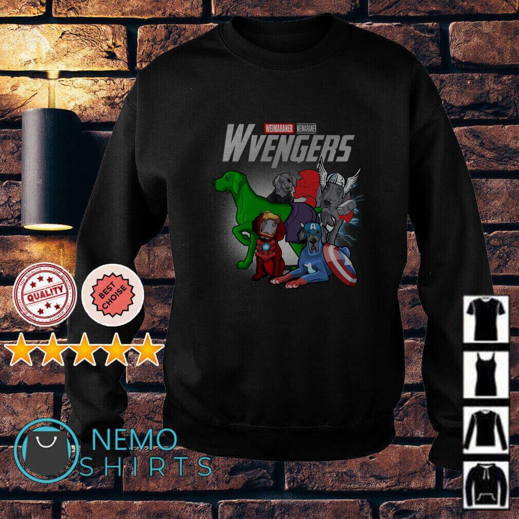 Marvel Avengers Weimaraner Wvengers Sweater