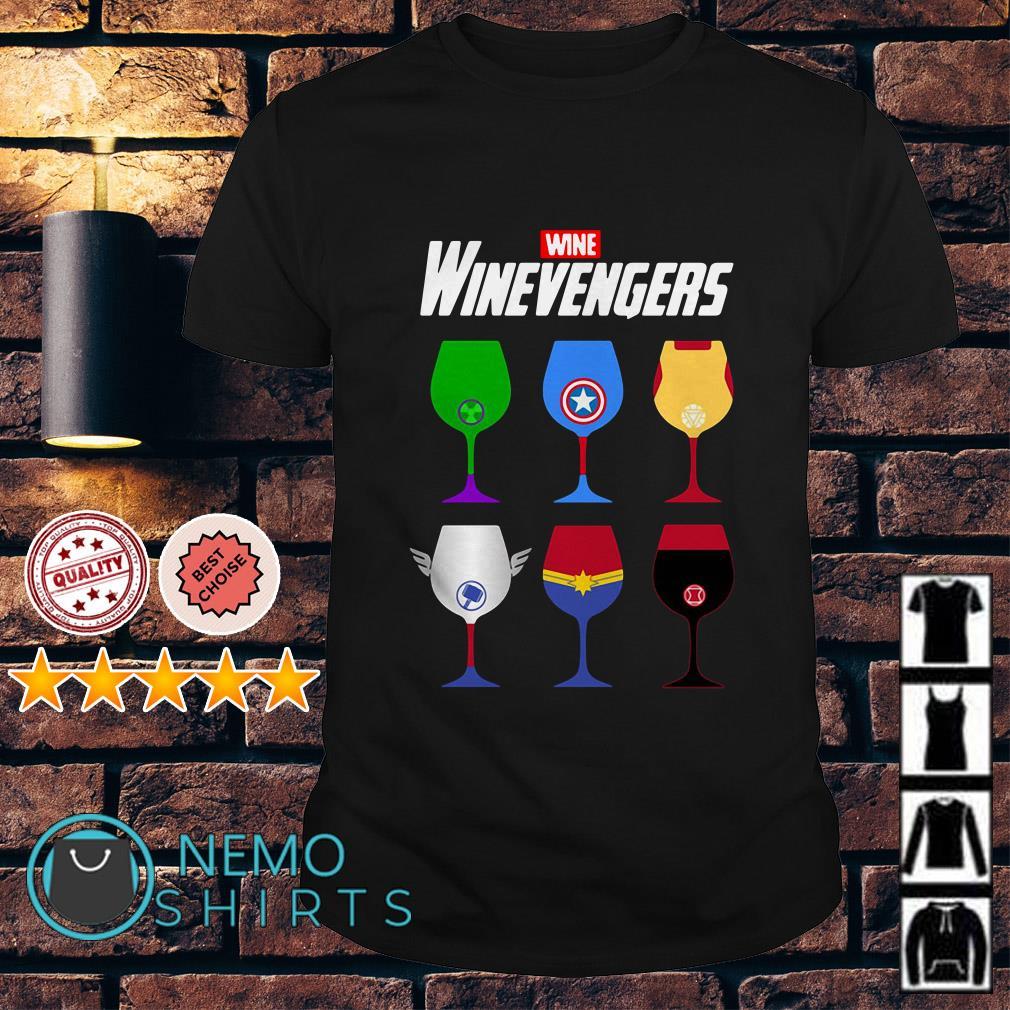 Marvel Avengers Wine Winevengers shirt