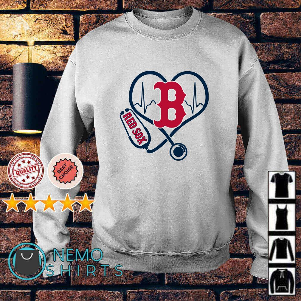 Nurse loves Boston Red Sox Sweater