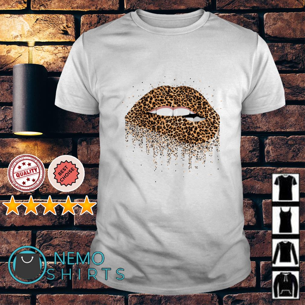 Official Leopard lips shirt