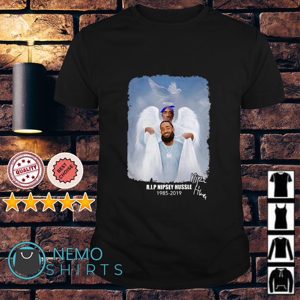 Rip Nipsey Hussle 1985 2019 shirt