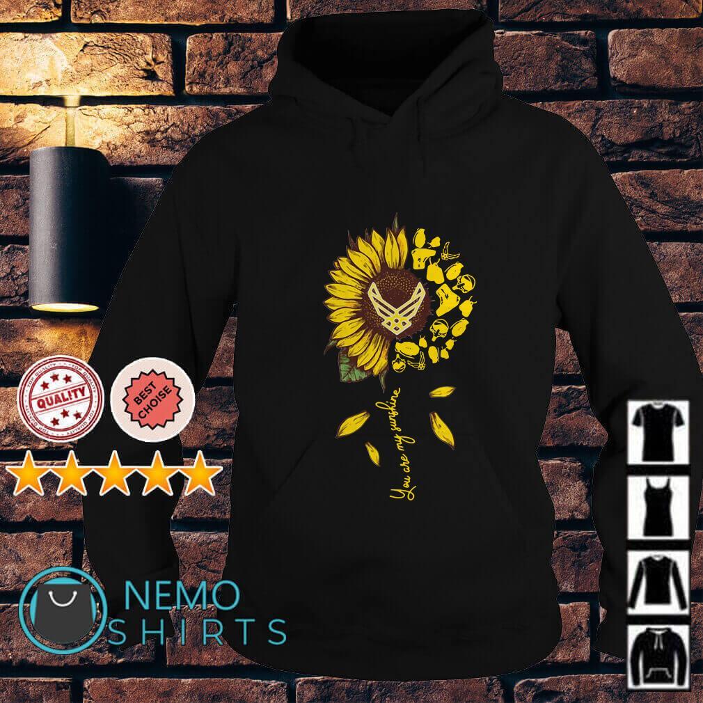 Semper Fidelis Sunflower you are my sunshine Hoodie